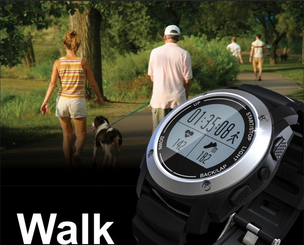 2017 S928 Smart Watch Heart Rate Monitor Bluetooth Smartwatch Gps Tracker Running Sport Watch Smart Electronics Wearable Devices