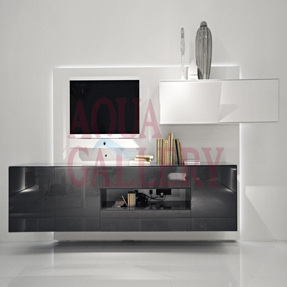 Online kopen Wholesale moderne muur tv kast uit China moderne muur ...