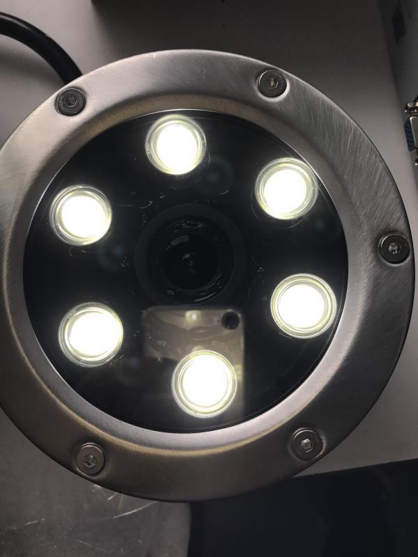 CCDCAM 1080P 10M Underwater Camera POE power white light underwater camera