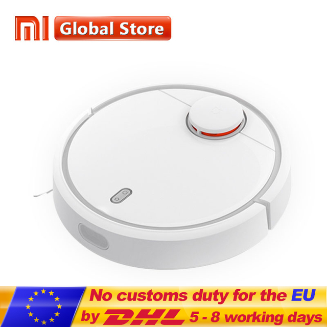 Original XiaoMi MI Mijia Robot Vacuum Cleaner for Home Automatic Sweeping Smart Planned WIFI APP Control Dust Sterili Cleaning