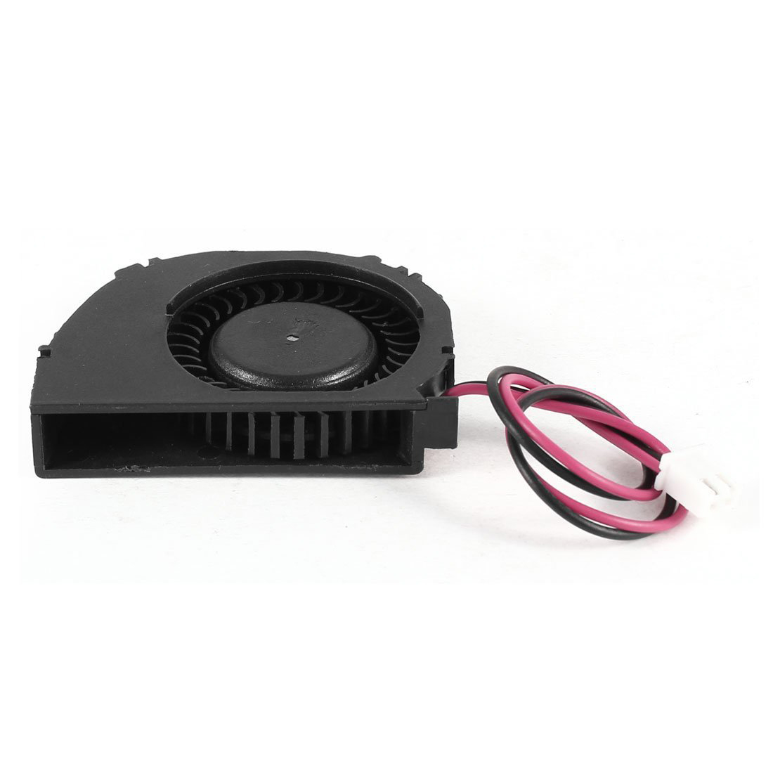 Laptop 2 Terminals CPU Cooler Cooling Blower Fan DC 12V 0.1A Black medium computer cpu plastic cooling fan leaves card blower heat sink