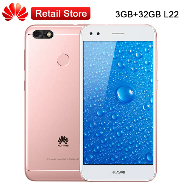 Global Huawei Enjoy 7 Y6 Pro 3GB RAM 32GB ROM 5 0''Snapdragon 425 Quad Core  Android7 0 3020mAh 13 0MP 1280x720 1080p Cellphone-in Mobile Phones from