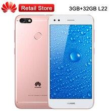 """Глобальный оригинальная Huawei наслаждаться 7 3 ГБ Оперативная память 32 ГБ Встроенная память 5.0 """"snapdragon 425 4 ядра Android7.0 3020 мАч 13.0MP 1280×720 1080 P телефона"""