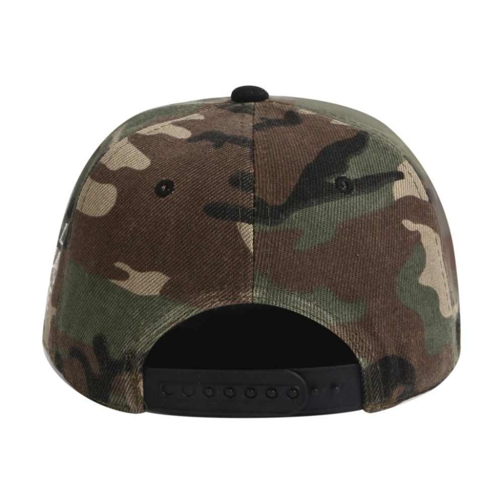[Smder] 2019 وصول جديد جودة عالية التطريز شقة حافة الجيش الأخضر التمويه Snapback قبعة gorras المعتاد