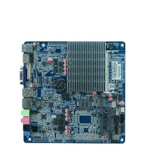 Fanless celeron J1800/2.41G Dual core all in one motherboard Thin industrial embedded motherboard with 9*USB