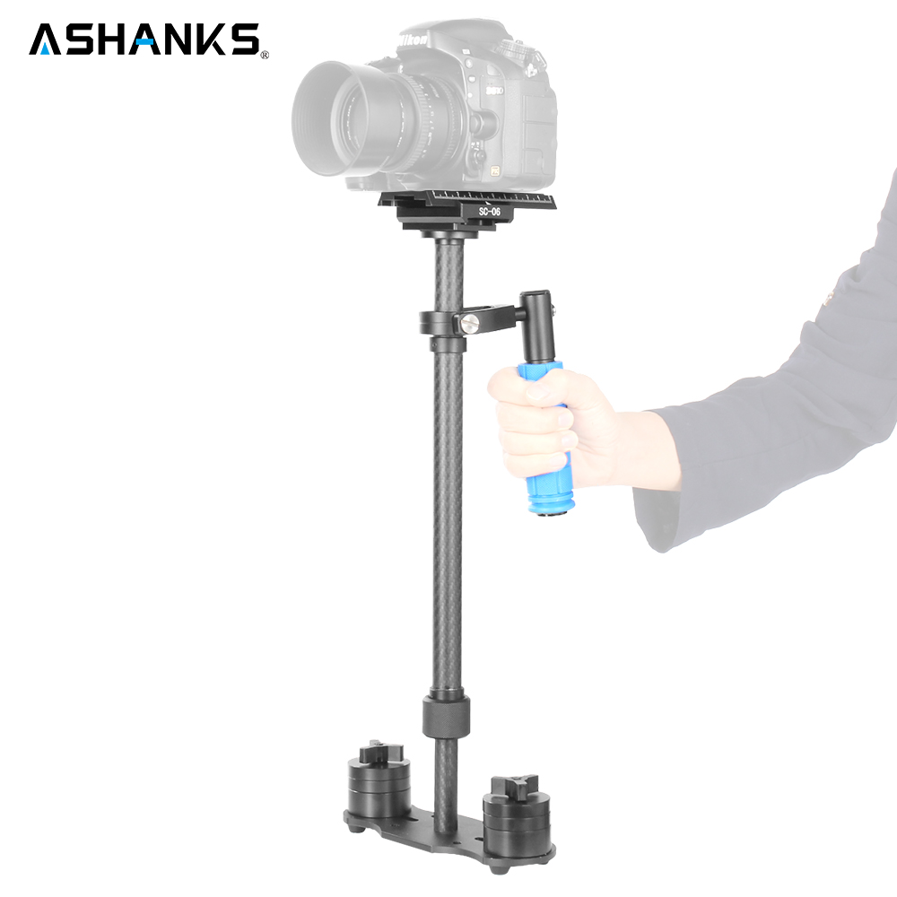 Camera Handheld Steadycam Stabilizer Carbon Fiber Steadicam for Photography Video Studio DSLR DV Nikon/Canon/Sony Mobile Phone