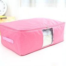 Large Storage Oxford Cloth Clothes Quilt Blanket Duvet Laundry Pillows Clothing Compact Bag Case Zipped Organizer