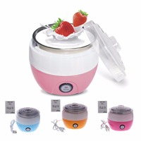 Mini Automatic Yogurt Maker 360 Degree Stereo Fermentation Stainless Steel Machine Liner Making DIY Tool Container