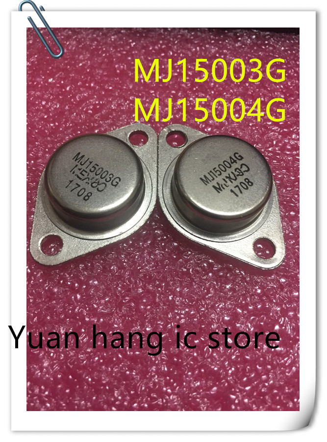 5PAIR/10PCS  MJ15003G MJ15004G MJ15003 MJ15004 TO-3
