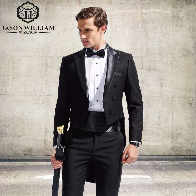 Elegant LN129 (jacket+pants+Girdle) New Menu0027s Fashion Formal Dress Blazer Tuxedo  Suit Male Suit Set Morality Business Wedding Suits In Suits From Menu0027s  Clothing ... Pictures
