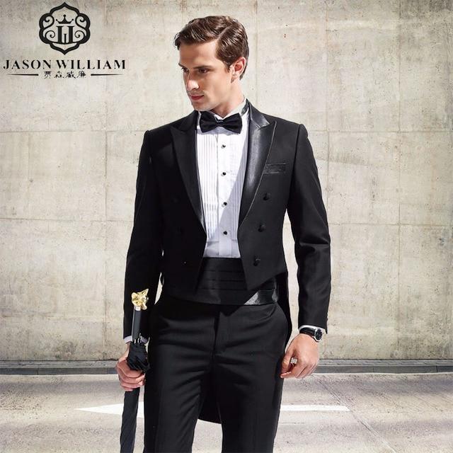 a5ff5565d7e LN129 (veste + pantalon + Ceinture) nouvelle Hommes de Mode Formelle Robe  Blazer Smoking