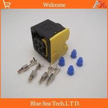 10 компл. 4Pin 2-1418390-1 женский Автомобиль/Автоматический датчик масла разъем, водостойкая Автомобильная электрический разъем для TE