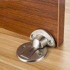 Magnet Door Stops Stainless Steel Door Stopper Magnetic Door Holder Toilet Glass Door Hidden Doorstop Furniture Hardware