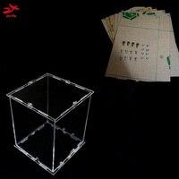 DIY 3D 8S LED Light Cube Acrylic 3D CUBE 8 8x8x8 3D LED Kits Junior Acrylic
