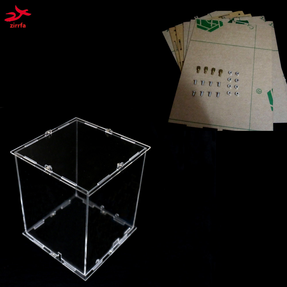 Diy 3d 8s Led Light Cubeeds Acrylic Kits Back To Search Resultselectronic Components & Supplies Note:cubeeds Box Only With The Use Of Our 3d8 Cubeeds,size Is 16x17x H22 Cm