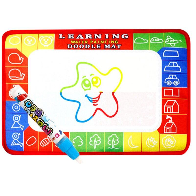 2018 Новое поступление мини воды рисунок коврик Волшебное перо акварель писать игрушки доска ребенка играть каракули Мат дропшиппинг P5