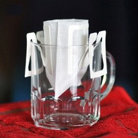 Portable Drip Coffee Cup Filter Bags Hanging Cup Coffee Filters Tea Tool Home Office Useful Coffee