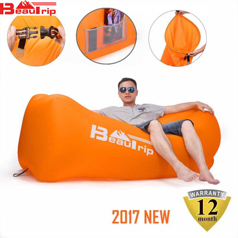 Summer Parks and Recreation Outdoor Travel Backpack Equipment Outfit Accessories Beach Sofa Inflatable Air Sleeping Bags Lay Bag