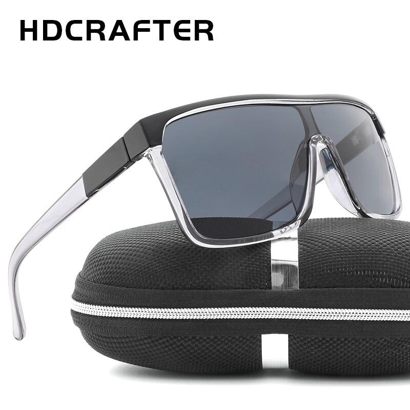 4a7dc66b42f Brand Design Sunglasses Men Mirror Square Frame Oversized Sun Glasses For  Male Retro Vintage Eyewear oculos