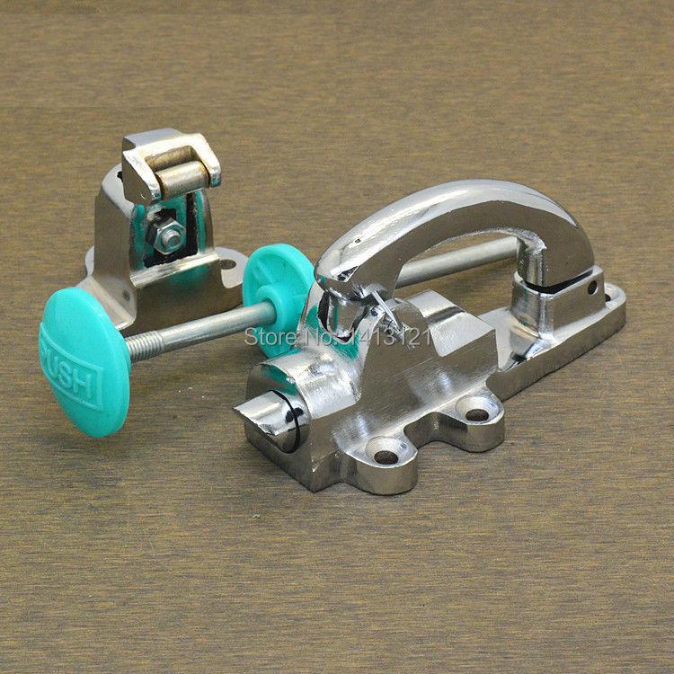 Dryer door lock latch Freezer handle oven knob Cold store storage door lock hardware pull part Industrial plant right oven handle or industrial steam rice cooker handle with sector shape lock tongue