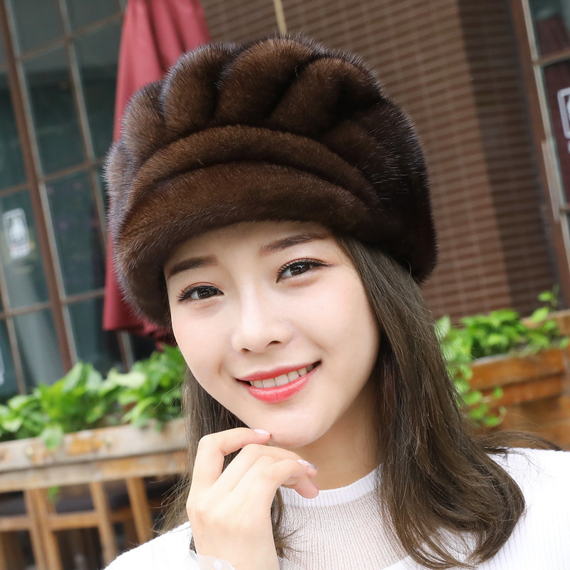 New Coltsfoot Hats Skin Mink Maam Cap  Leather And  Banana The Hair Of The Dicer Earmuffs New Coltsfoot Hats Skin Mink Maam Cap  Leather And  Banana The Hair Of The Dicer Earmuffs