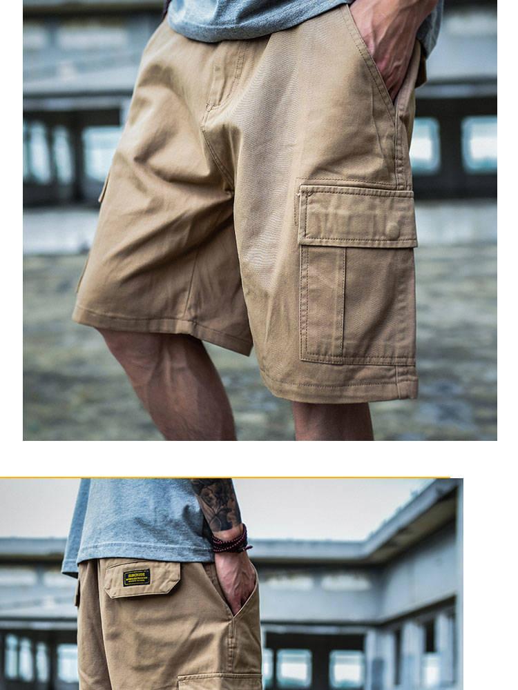 do hip hop shorts com bolso lateral