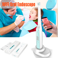 WiFi Wireless Dental Camera HD Intraoral Endoscope With 8 Led lights Inspection for Dentist Oral Real time Video Dental Tools