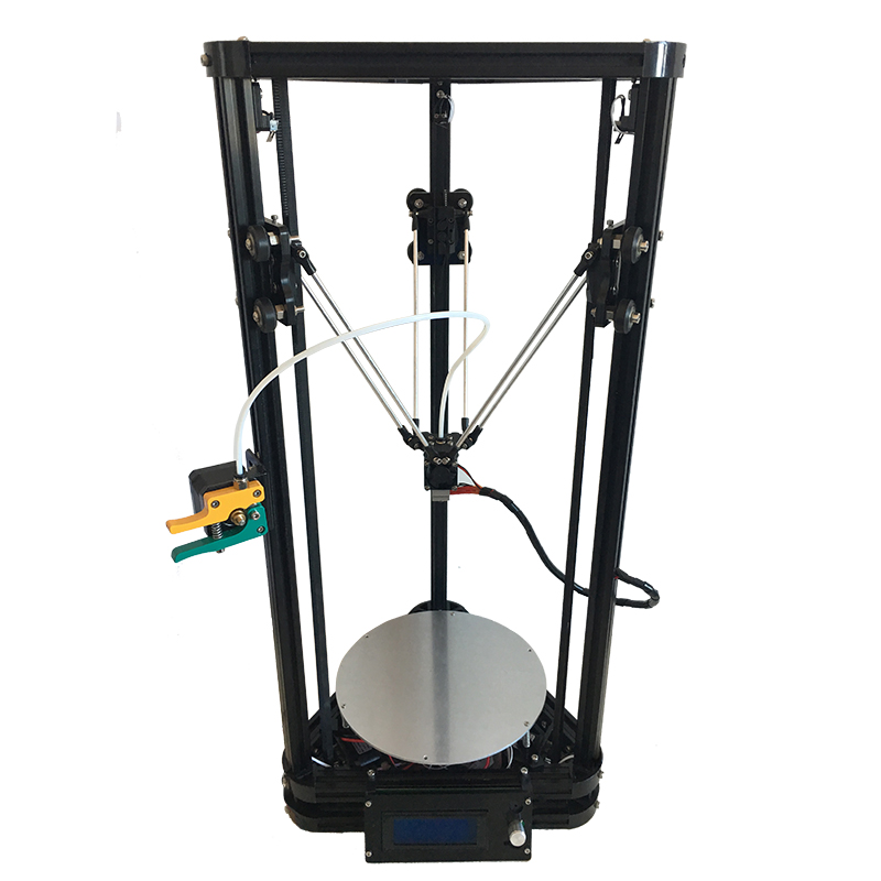 HE3D K200 delta 3d printer kit with heated bed- support multi material