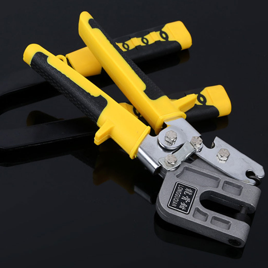 1PCS 10 Inch Handle Stud Crimper Plaster Board Drywall Pliers For Fastening Metal Studs