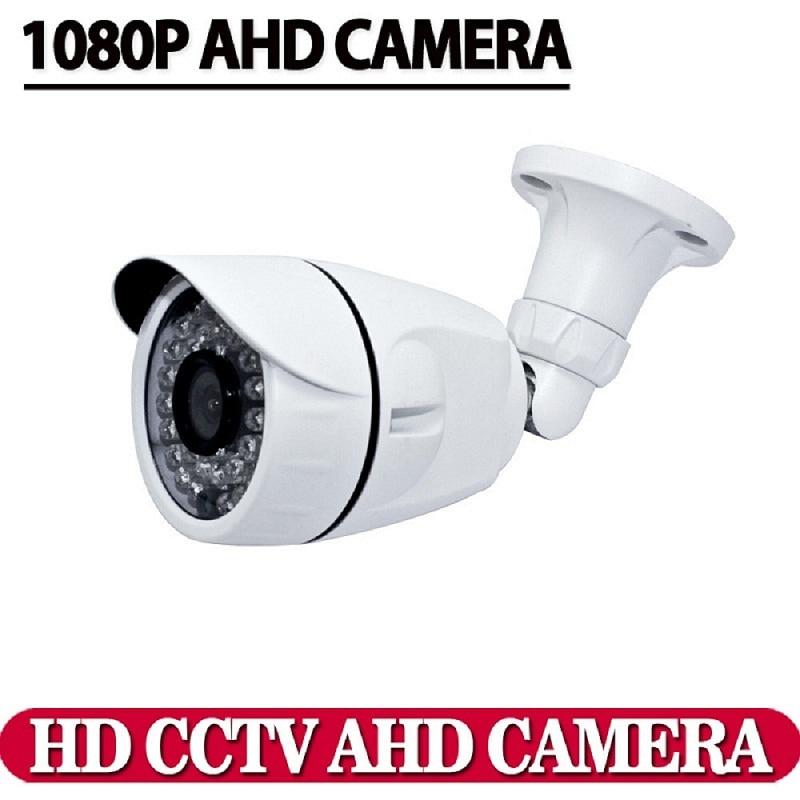 Hot Sale,HD CCTV AHD Security camera 1080P 2.0MP CCD IMX322 Chip High 3.6mm Lens waterproof Day night vision IR-Cut camera kits