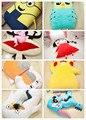 1 unids Natsume gato Pikachu Stitch Despicable me Chi bi Maruko Mono Silver Soul estilo Búho gigante suave tatami sofá cama a través de EMS