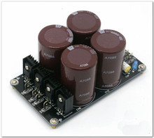 Assembled 4*10000uF/100V high quality power supply board for power amplifier PSU