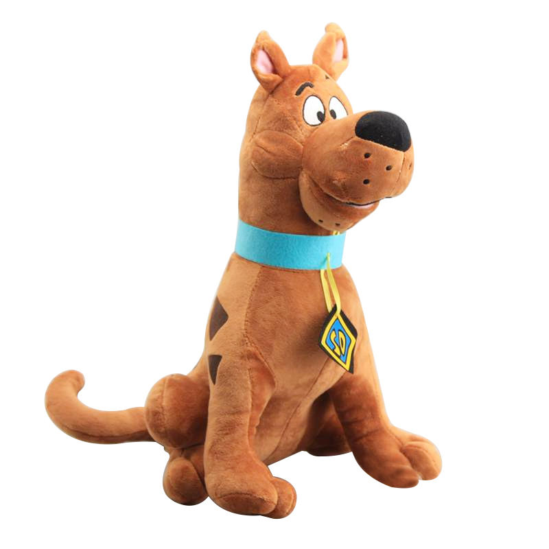 1pcs 35cm High Quality Soft Cute Scooby-Doo Great Dane Scooby Doo Dog Cute Dolls Stuffed animal Plush Toy New Christmas Gifts image