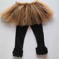 ימי חג ההודיה תינוקת חצאיות טוטו חותלות חותלות תלבושות של יום הודיה wholesales הדובדבן שחור חצאיות טוטו בנות