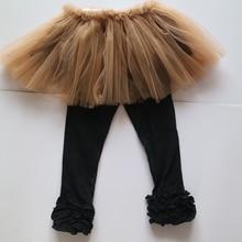 baby girl Thanksgiving days tutus leggings black icing leggings  Thanksgivings day's outfits wholesales tutus dress for girls