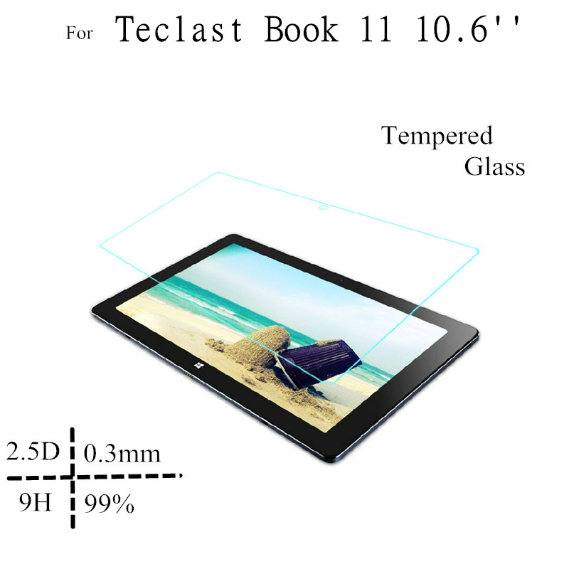 10.6 inch High Clear Tbook11 Glass Protect Films For Teclast Tbook 11 Tempered Glass Screen Protectors