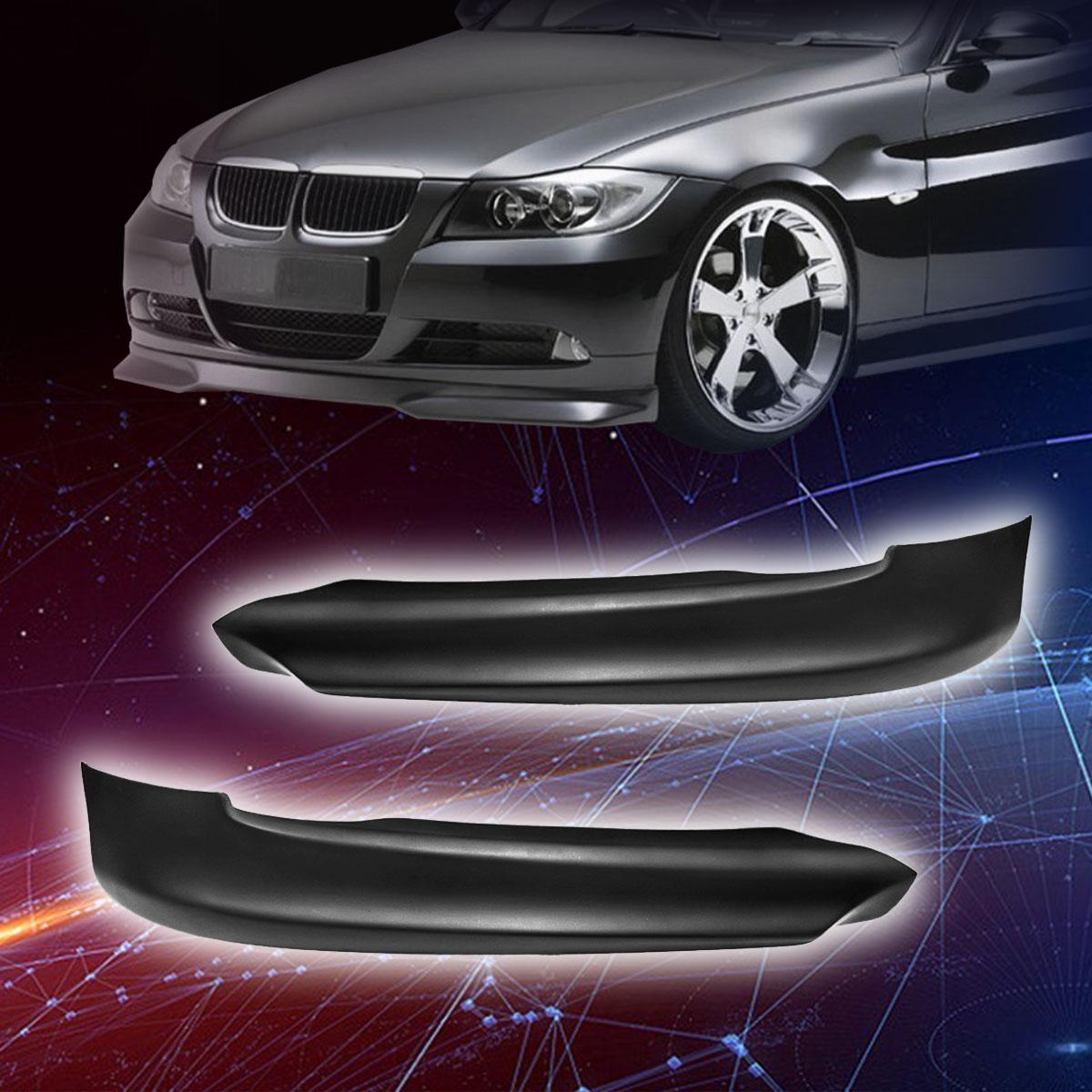 Per BMW E90 325i 335i 328i 330i 2005 2006 2007 2008 1 paia Paraurti Anteriore Spoiler Splitter di Alta qualità