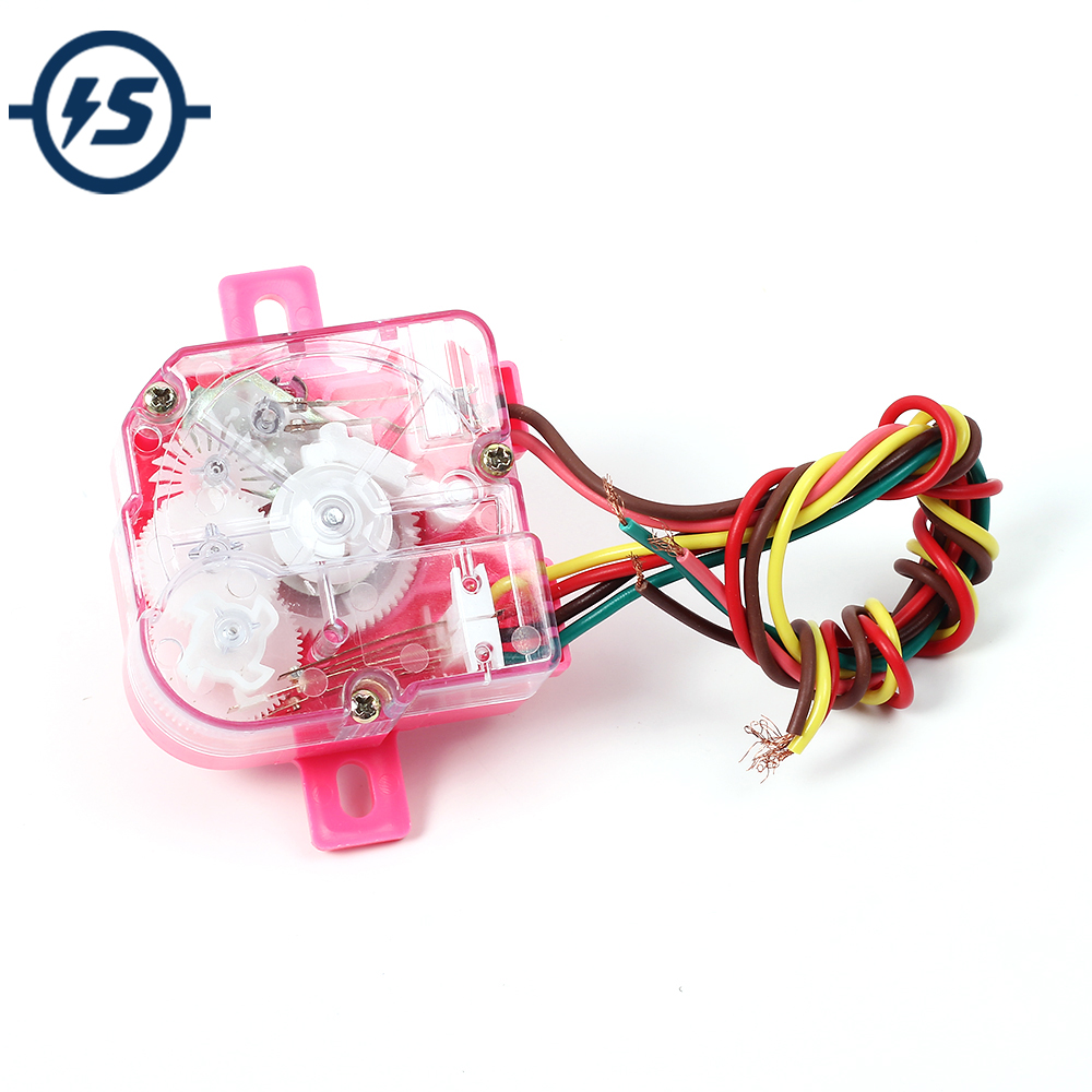 6-Wire Washing Machine Timer Switch Shaft 90 Degree Central Hole Distance 68mm Centralizador De Furo