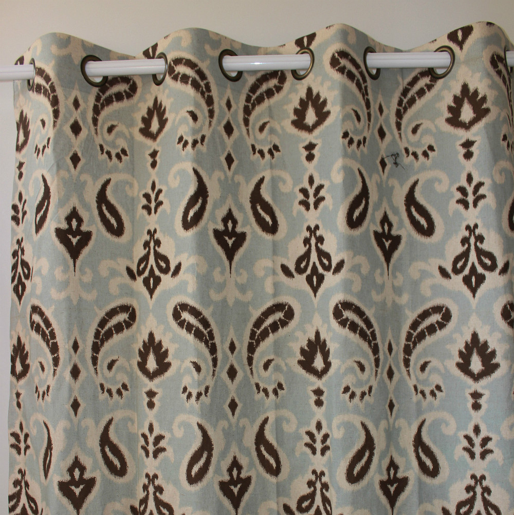 Printed Curtains Living Room Popular Paisley Print Curtains Buy Cheap Paisley Print Curtains