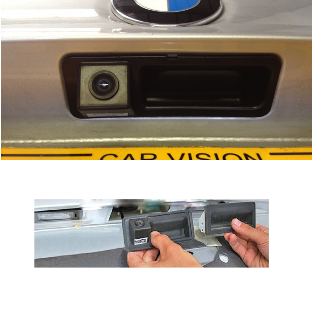 Retrocamera Parcheggio Visione Colori BMW X1 X5 Serie 3 Serie 5 Maniglia Colori