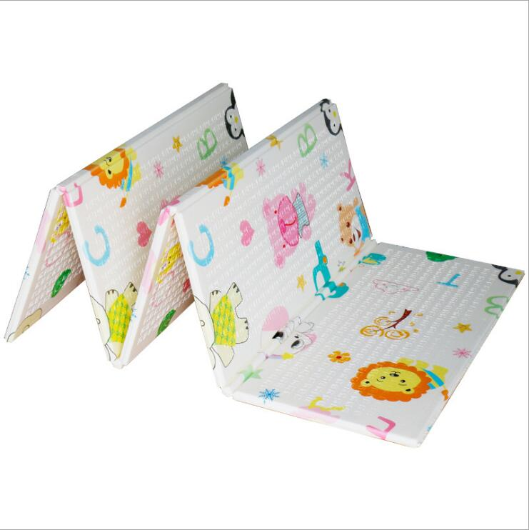 Infantil bébé chambre ramper tapis de jeu bébé tapis de jeu XPE tapis pour enfants épaissi Tapete Kid jouets pour enfants Juguetes enfants cadeau - 4