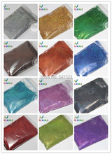 12  Holographic Colors  Finer size Glitter Powder for nail decoration and others  1 Lot =20g*12 colors =240g