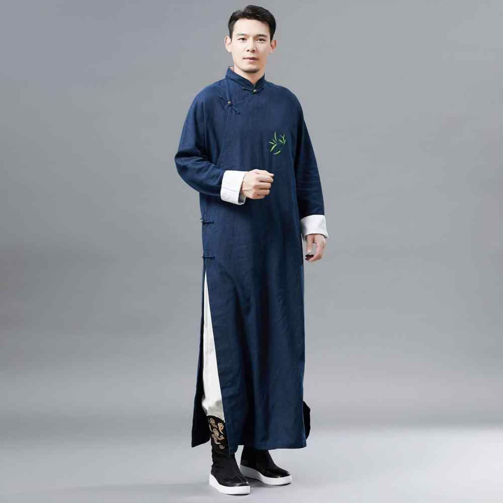 New ancient costume Chinese traditional clothing male cheongsam ...