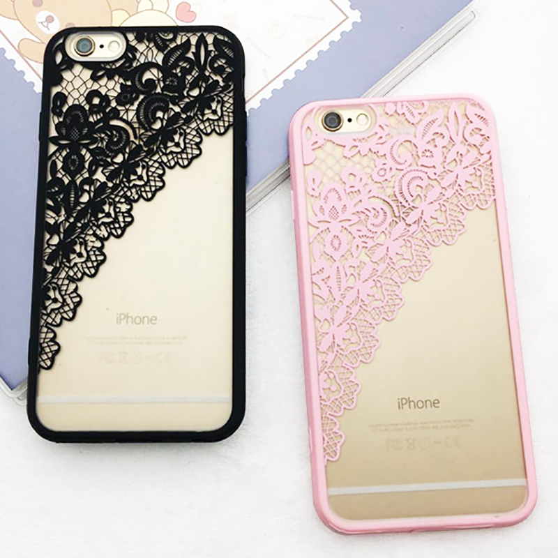 fashion colorful classic 3d relief lace flower black case for iphonefashion colorful classic 3d relief lace flower black case for iphone 6 case for iphone 6s 6 plus i6 phone cases back cover capa