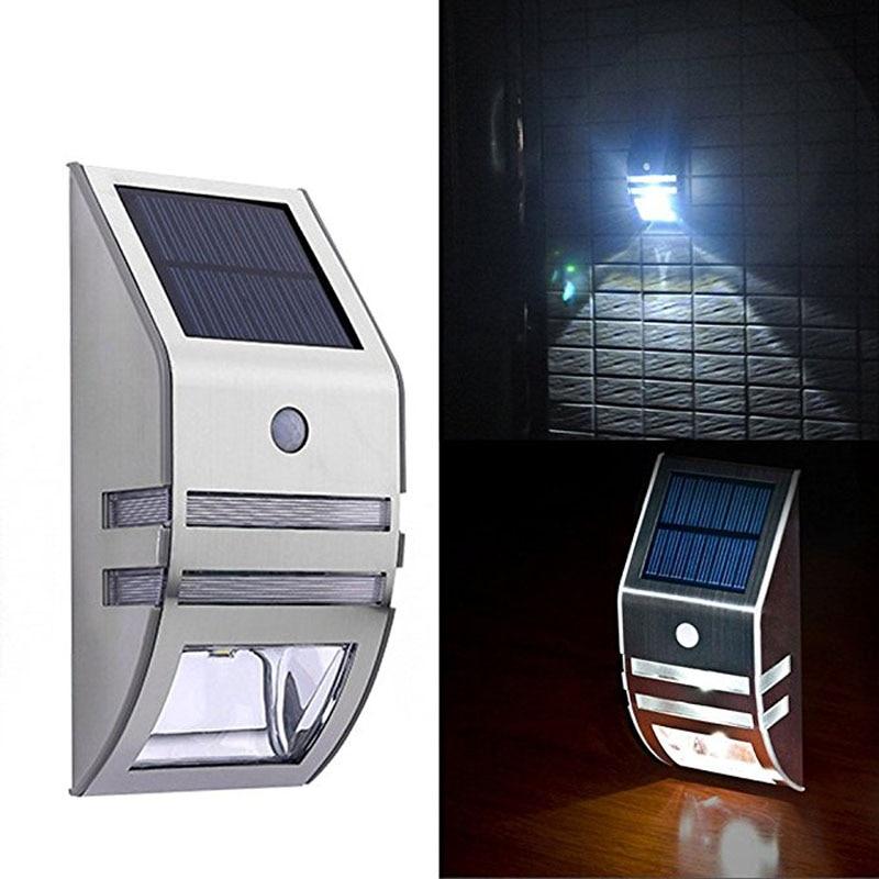 Brightness Solar Power Wall Light with Pir Motion Sensor Led Lamp IP65 Waterproof Emergency Security Corridor Solar Lights