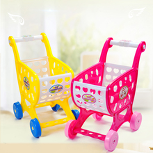 New Pretend Play Toys Car Toy for Boys SB3 Foldable Simulation Mini Shopping Cart Safe Plastic Toys Baby Educational Classic Kid everybody pretend play toys plastic toy supermarket toy shopping simulation baby educational toys wholesale