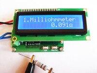 Gratis Verzending! nieuwe versie milliohmmeter module|Vervangende onderdelen en toebehoren|Consumentenelektronica -