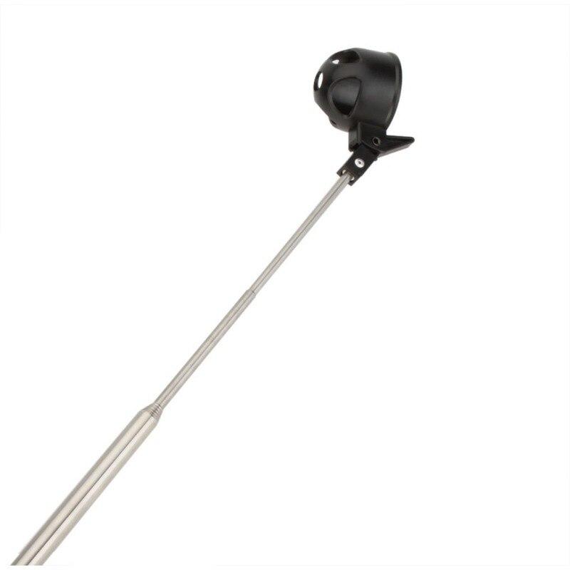 Equipamento de Golfe Retriever Dispositivo Automaticamente Telescópica Portátil 8 Seção Antena de Aço Inoxidável Pick Up Bola de Golfe Clube