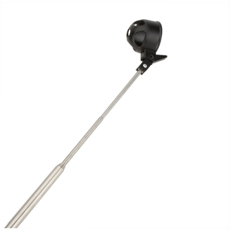 Retriever dispositivo automáticamente telescópica portátil Golf equipo 8 Sección Antenas Acero inoxidable pick up Club Golf bola