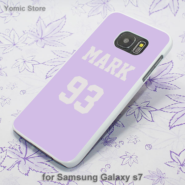 got7 kpop jackson white hard phone case cover for samsung galaxy s8plus s8 s6 s7 edge s5 note8 note5 in half wrapped case from cellphones